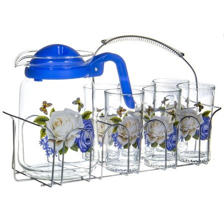 Купить Набор: кувшин и 6 стаканов OlAff SLD-7DS915-B-005