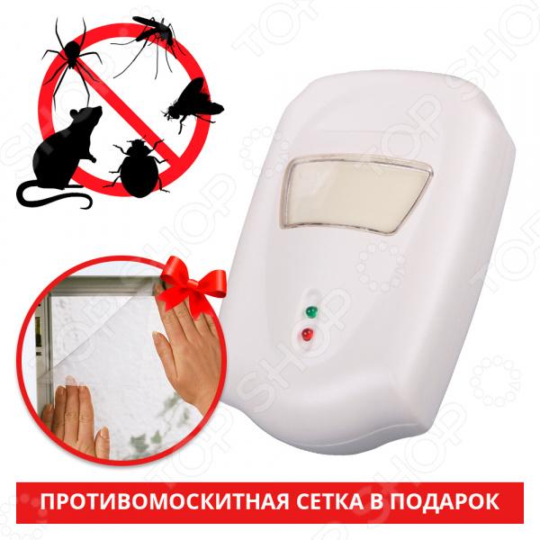 Устройство для отпугивания насекомых и грызунов Pest Repeller Pest Repeller ultrasonic electronic magnetic drive mosquito repeller rat pest repellent reject control