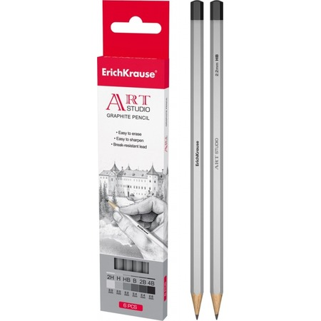 Купить Набор карандашей простых Erich Krause Art-Studio