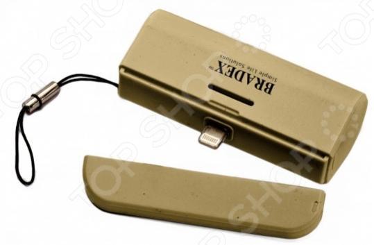 Аккумулятор для iPhone Bradex ультрапортативный Аккумулятор Bradex SU 0061 /Золотистый