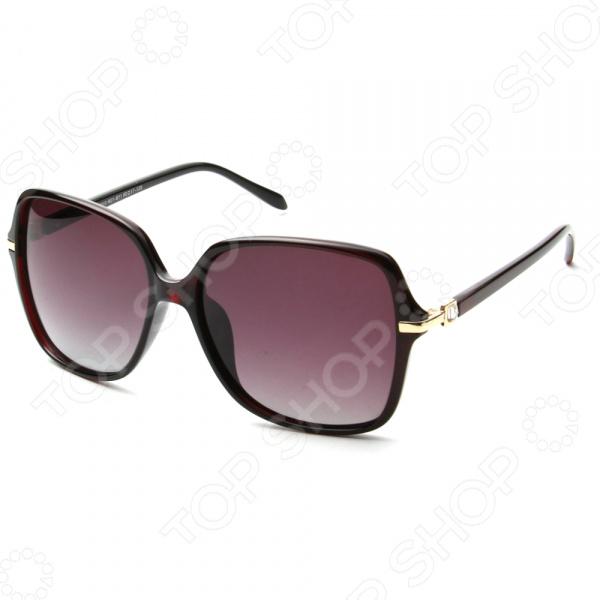 Солнцезащитные очки Laura Amatti «Сеньорита». Цвет: коричневый