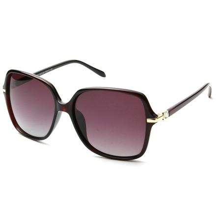 Купить Солнцезащитные очки Laura Amatti «Сеньорита». Цвет: коричневый