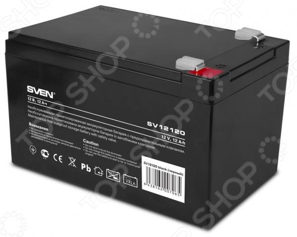 Батарея аккумуляторная Sven SV12120 батарея для ибп sven sv1290 12v 9а