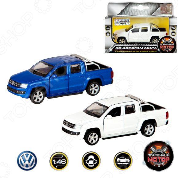Модель автомобиля 1:46 Пламенный Мотор Volkswagen Amarok. В ассортименте