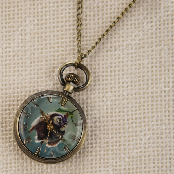 Кулон-часы Mitya Veselkov «Сова» ANTIK-048 кулон часы mitya veselkov слоненок цвет бронзовый antik 010