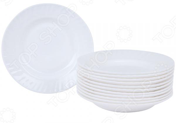 Набор суповых тарелок Rosenberg RGC-325004 набор суповых тарелок rosenberg rgc 325004