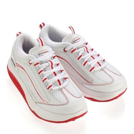 Купить Кроссовки Walkmaxx 2.0. Цвет: белый, красный