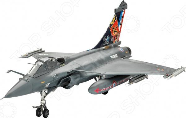 Сборная модель самолета Revell «Дассо. Рафаль» самолеты и вертолеты revell набор со сборной моделью истребитель dassault rafale m