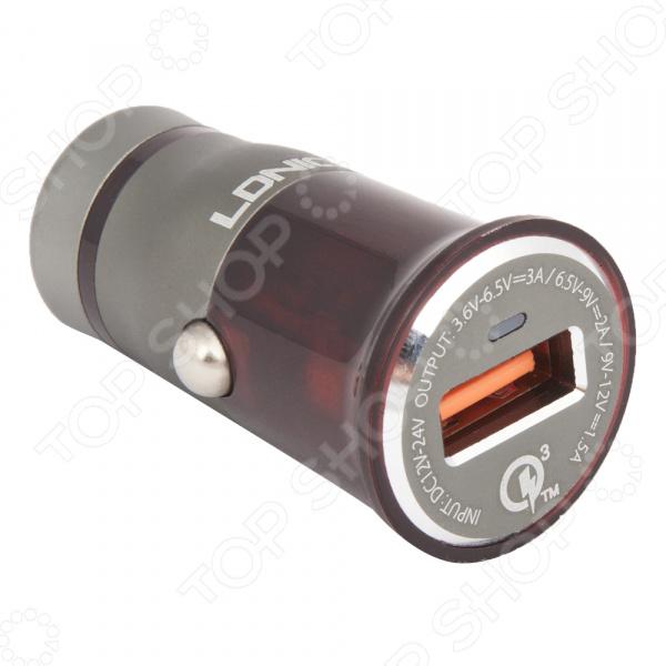 Устройство зарядное автомобильное Ldnio USB Type-C C304Q