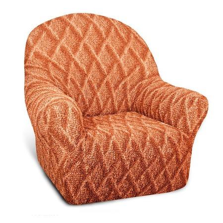Купить Натяжной чехол на кресло Еврочехол «Виста. Ромбы»