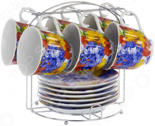 Набор чайный OlAff Metal Stand DL-F6MS-193 цена