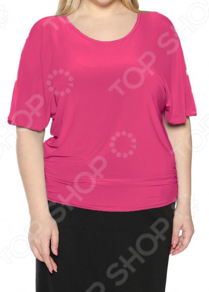 Блуза Pretty Woman «Фруктовый заряд». Цвет: фуксия блуза pretty woman руфина цвет красный