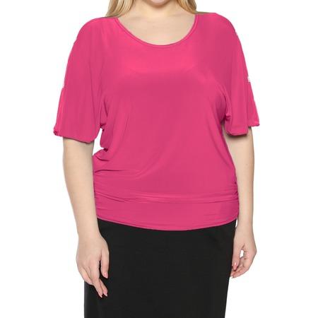 Купить Блуза Pretty Woman «Фруктовый заряд». Цвет: фуксия