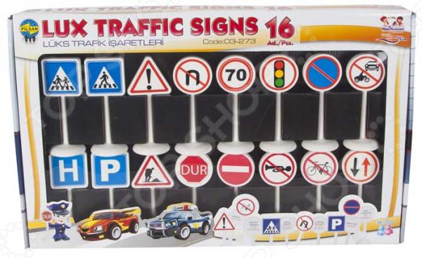 Набор дорожных знаков PILSAN «Мини»