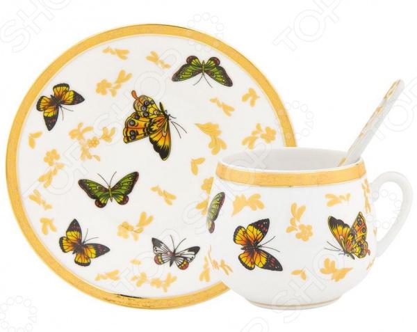 Кофейная пара Elan Gallery «Бабочки» 730282