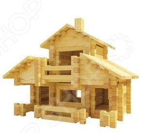Конструктор деревянный Лесовичок «Разборный домик №5» конструктор лесовичок разборный домик 3 из 150 деталей les 003