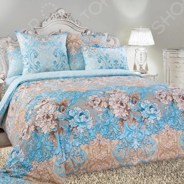 цена Комплект постельного белья Королевское Искушение «Вивьен» онлайн в 2017 году