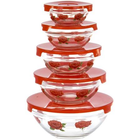 Купить Набор салатников OlAff AX-5SB-R-01