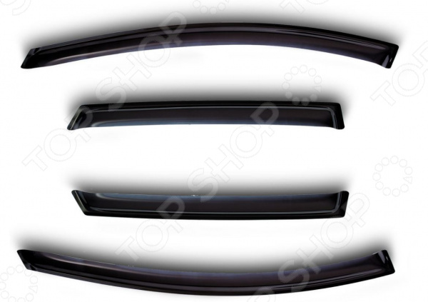 Дефлекторы окон Novline-Autofamily Volkswagen Caddy 2004