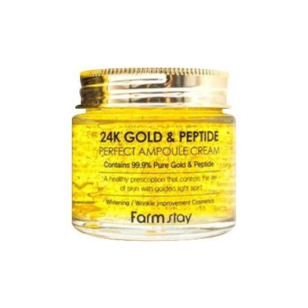 Купить Ампульный крем с золотом и пептидами «Тайна совершенства»