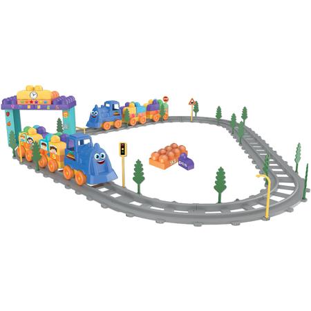 Купить Игровой набор-конструктор «Волшебный детали. Поезд»