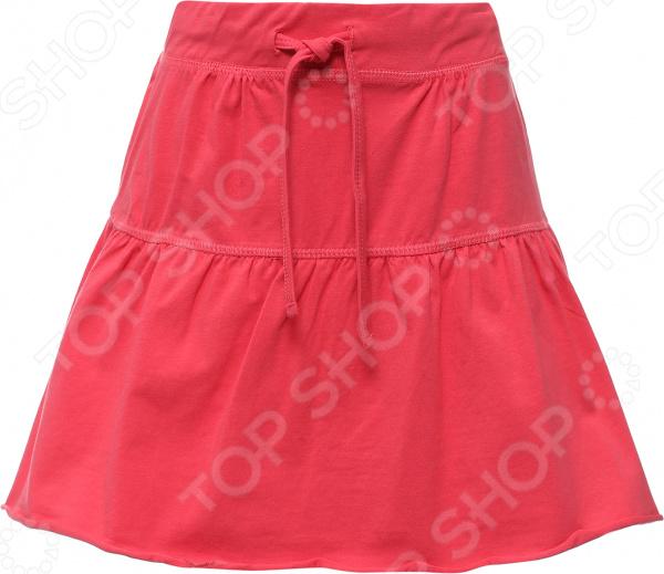 Юбка детская Finn Flare KS16-71043. Цвет: розовый