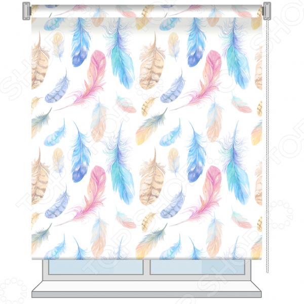 Рулонная штора Волшебная ночь Fluff