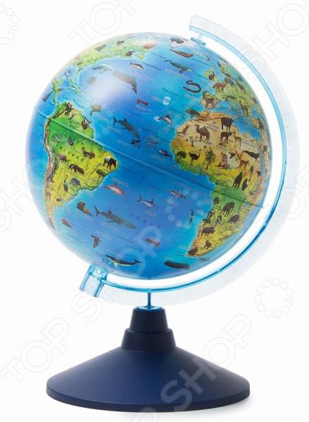 Глобус Globen «Зоогеографический. Евро» globen глобус земли физический диаметр 210 мм ке012100176