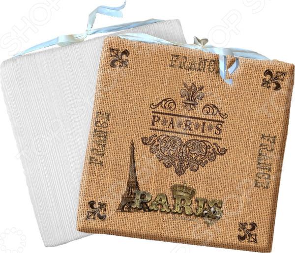Сидушка на стул Gift'n'home «Винтажный Париж» Gift'n'home - артикул: 1754403