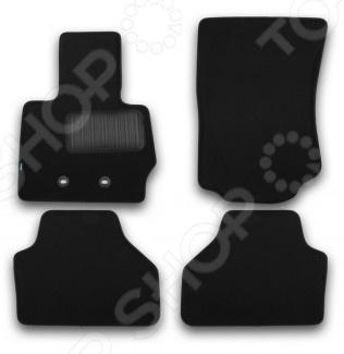 Комплект ковриков в салон автомобиля Klever BMW X3 2010-2014 / 2014 Premium