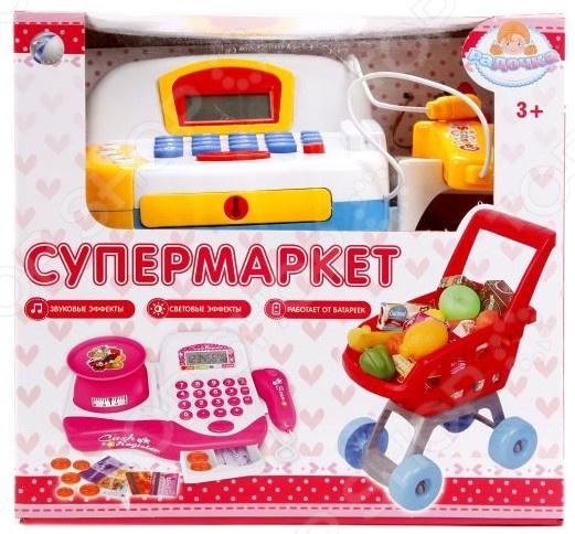 Игровой набор для ребенка Наша Игрушка «Супермаркет Радочка». Количество предметов: 32 игрушка coloma супермаркет для детей от 3 лет 17 предметов