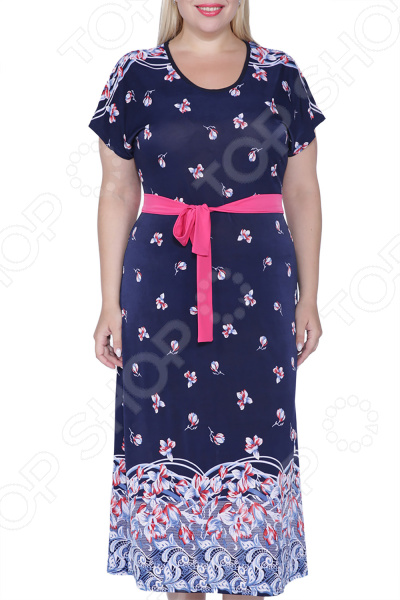 Платье Лауме-Лайн «Яркий поясок»