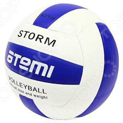 Мяч волейбольный ATEMI STORM Мяч волейбольный Atemi STORM /Синий/Белый