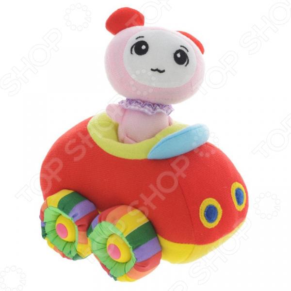 Игрушка мягкая музыкальная Tongde «Машинка» В72425 мягкая озвученная игрушка tongde фронтальный погрузчик в72429