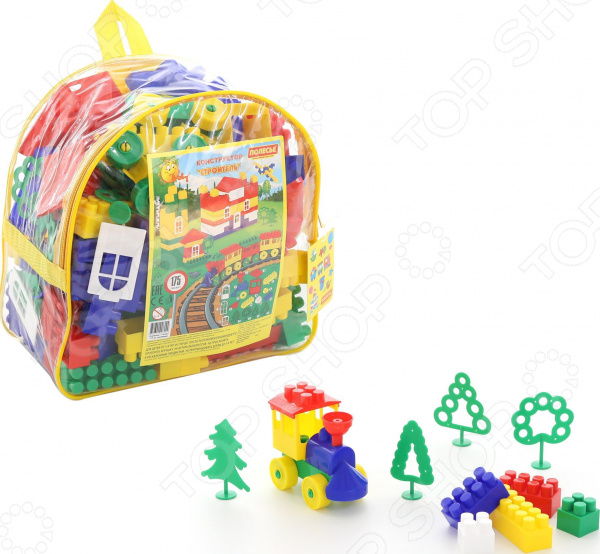 Конструктор игровой POLESIE «Строитель. Гигант» в рюкзаке Конструктор игровой POLESIE «Строитель. Гигант» в рюкзаке /