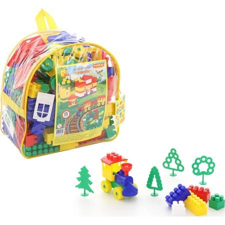 Купить Конструктор игровой POLESIE «Строитель. Гигант» в рюкзаке