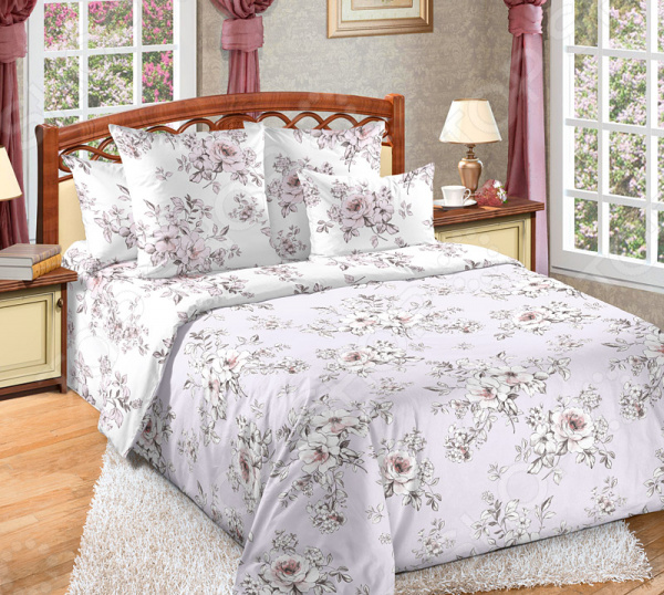 Комплект постельного белья Королевское Искушение «Виктория 1» комплект постельного белья королевское искушение чайная роза 1710294