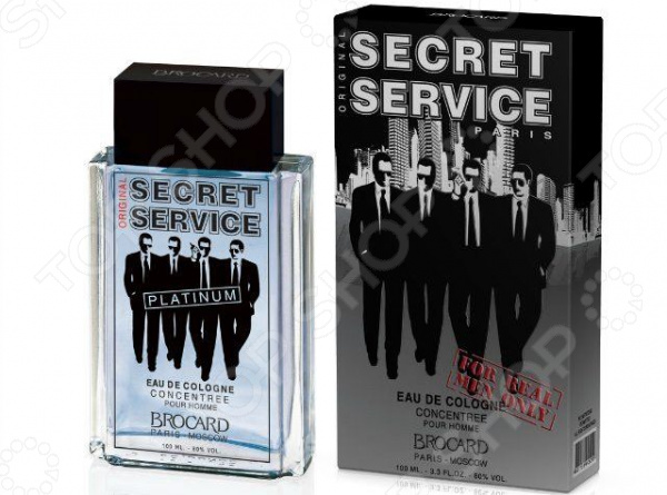 Одеколон мужской Brocard Secret Service Platinum худи print bar acid wave