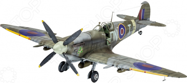 Сборная модель истребителя Revell Spitfire Mk.IXC времен Второй мировой войны