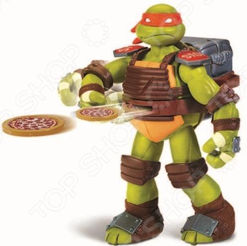 Игрушка-фигурка Turtles с метательным механизмом игрушка turtles шпионские часы цвет черный серебристый
