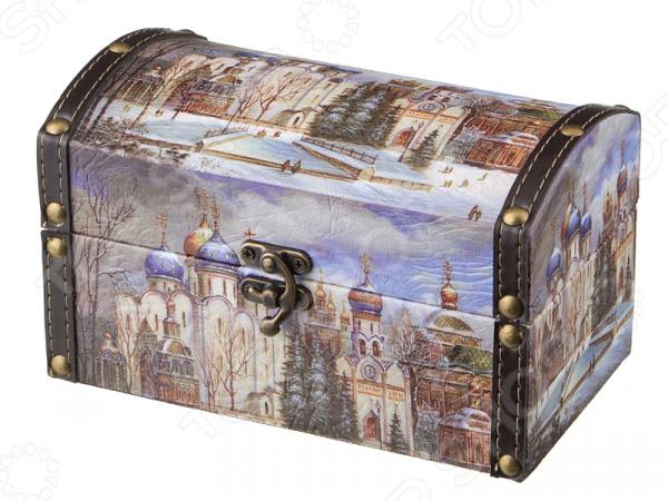Шкатулка Lefard «Церкви России» 41-319 шкатулки patricia шкатулка для медикаментов 16 13 7 26см