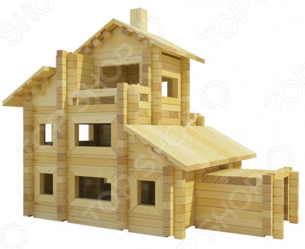 Конструктор деревянный Лесовичок «Разборный домик №7» конструктор лесовичок разборный домик 3 из 150 деталей les 003