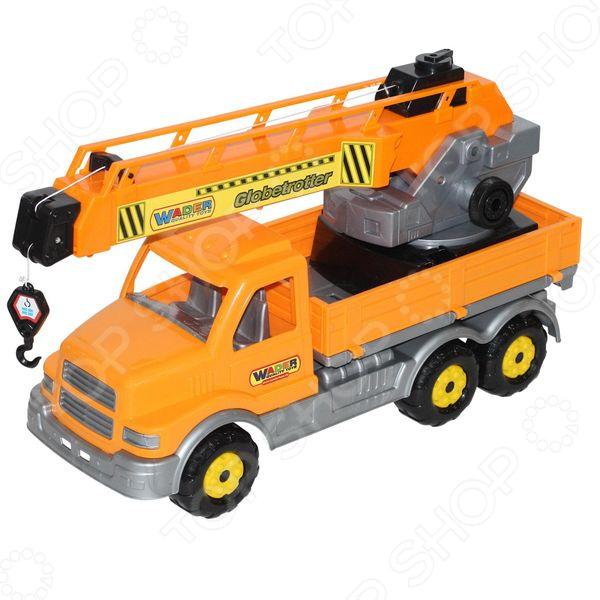 Машинка игрушечная Wader с поворотной платформой «Сталкер»