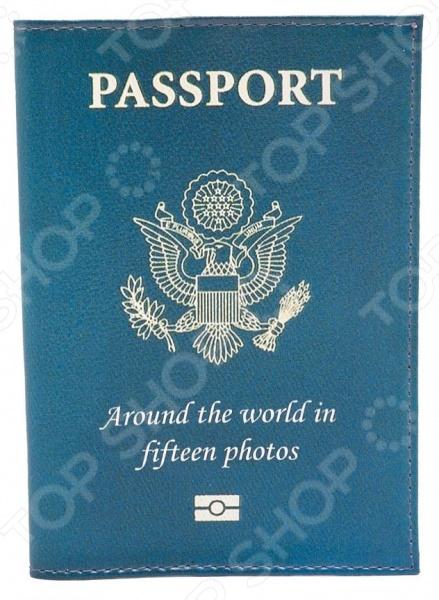 Обложка для паспорта кожаная Mitya Veselkov Passport обложка для паспорта mitya veselkov котик под деревом