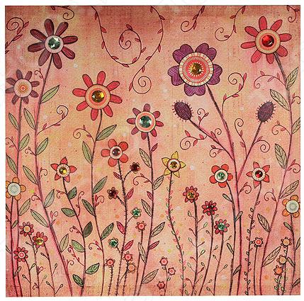 Картина-панно «Полевые цветы» - артикул: 941041