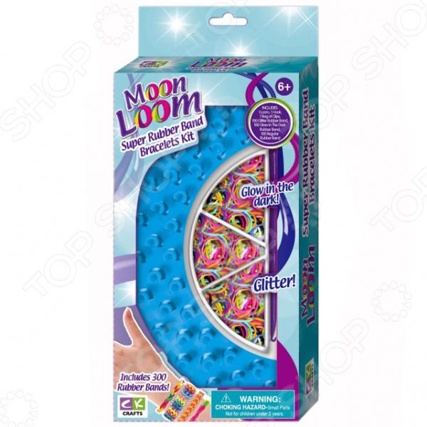 Набор резиночек для плетения Creative Kids Moon Loom набор для творчества creative creative набор для творчества веселое мыловарение