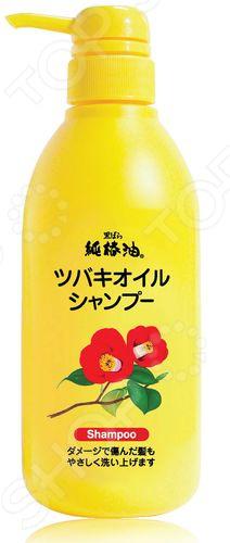 Шампунь Kurobara Tsubaki Oil «Чистое масло камелии» kurobara концентрированная маска tsubaki oil чистое масло камелии для восстановления поврежденных волос с маслом камелии 300 гр