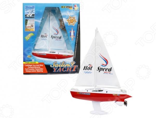 Игрушка на радиоуправлении 1 Toy «Яхта с парусом»