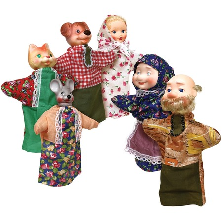 Купить Кукольный театр Огонек «Репка»