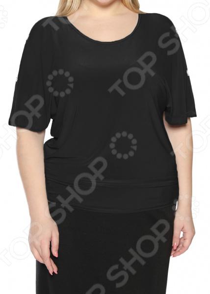 Блуза Pretty Woman «Фруктовый заряд». Цвет: черный блуза ivko woman ivko woman mp002xw0r6cn